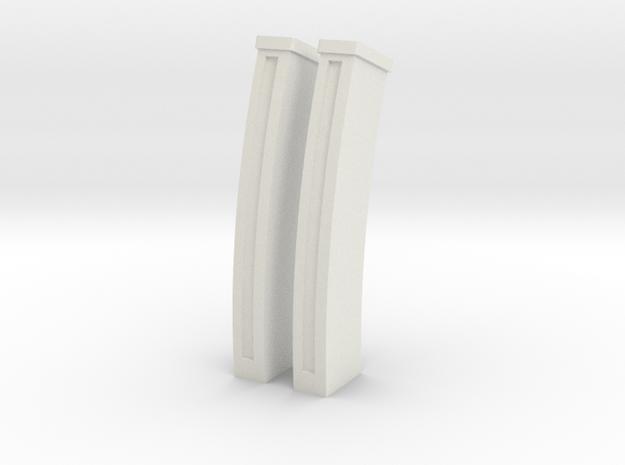 Villar-Perosa MG 1-6 Last Crusade Magazines 2X in White Natural Versatile Plastic