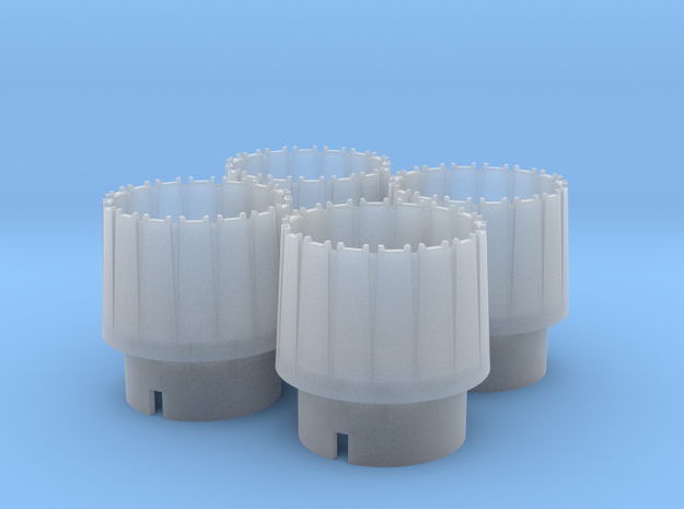 WING-X REBELL 1/29 EASYKIT ENGINE NOZZLES