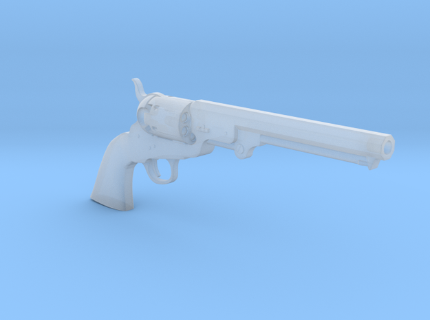 1/4 Scale Colt 1851 Navy in Smooth Fine Detail Plastic