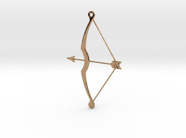 Bow & Arrow Pendant