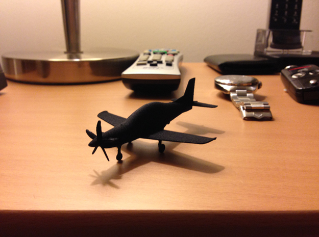 PC-21 Turboprop 10cm highly detailed in Black PA12