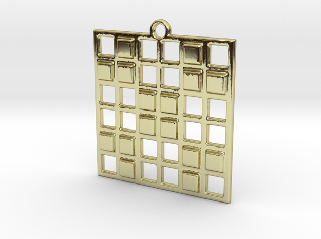 3cc in 18k Gold Plated Brass