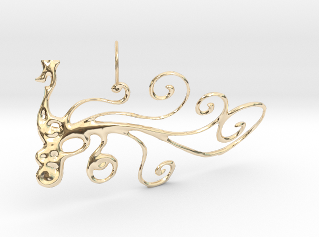 Pauw Hanger in 14K Yellow Gold