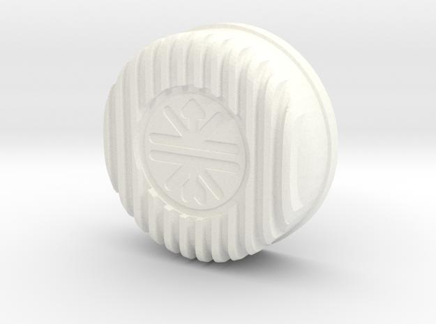 Kreidler ontstekingsdeksel/Zünd.deckel/Ignition Ca in White Strong & Flexible Polished