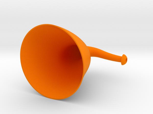 Hangit&Hearit Ergo Ear Trumpet in Orange Processed Versatile Plastic