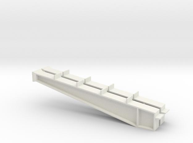 1/64 50' I-beam Cross Span in White Natural Versatile Plastic