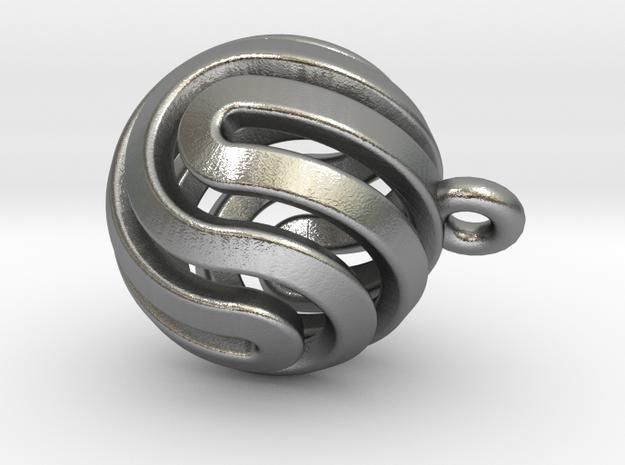 Ball-smaller-14-4 in Natural Silver