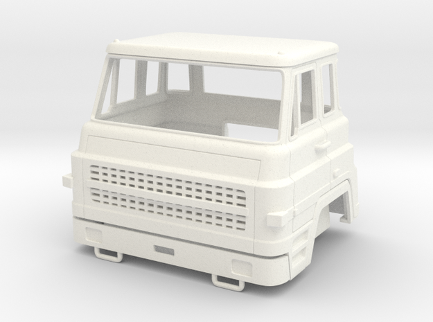 Dodge Barreiros C-38 1-32 in White Processed Versatile Plastic
