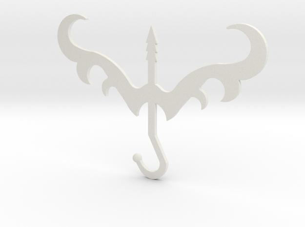 Sagittarius in White Natural Versatile Plastic