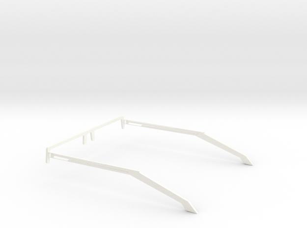 Glasses - Type1 in White Processed Versatile Plastic