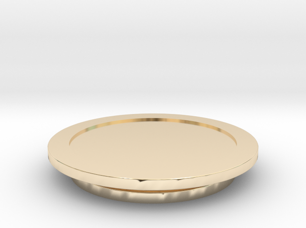 Modeling Coasters in 14K Yellow Gold