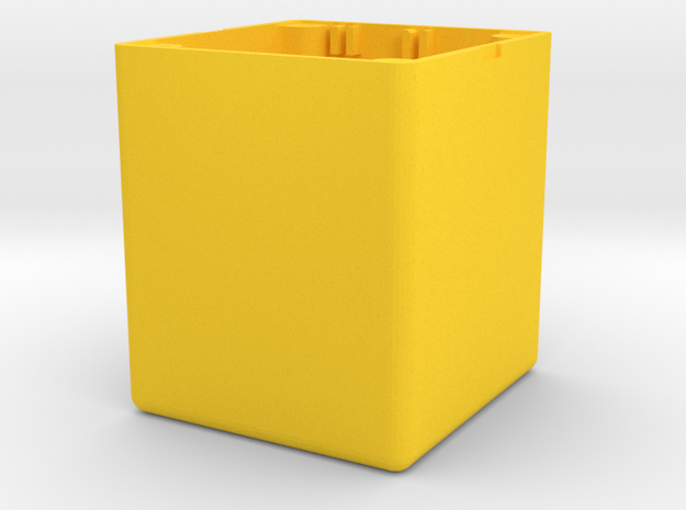 Tracker Fond Boitier in Yellow Processed Versatile Plastic