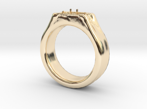 104102210  Ring in 14K Yellow Gold