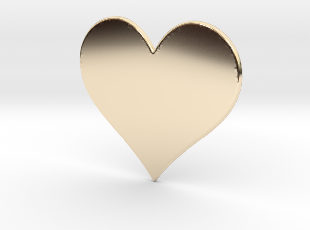 Heart in 14K Yellow Gold