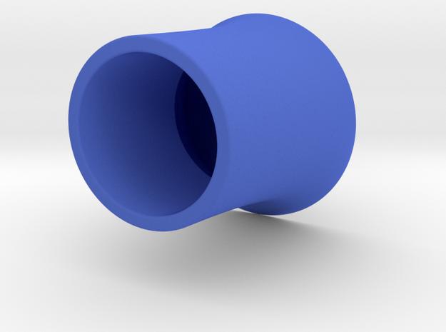 花瓶.stl in Blue Processed Versatile Plastic
