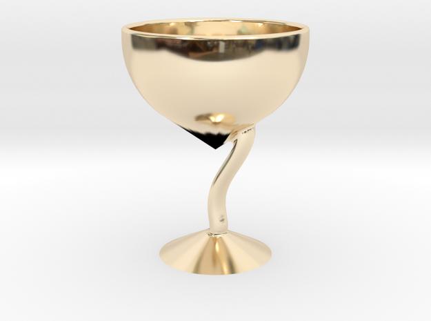 酒杯 in 14K Yellow Gold