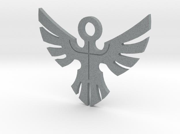 Duke's Pendant - Yu-Gi-Oh! Darkside of Dimensions in Polished Metallic Plastic