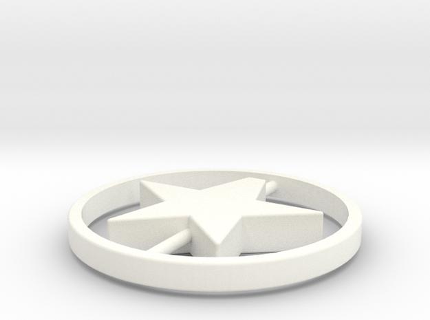104102206蔡瀚強星星吊飾 in White Processed Versatile Plastic