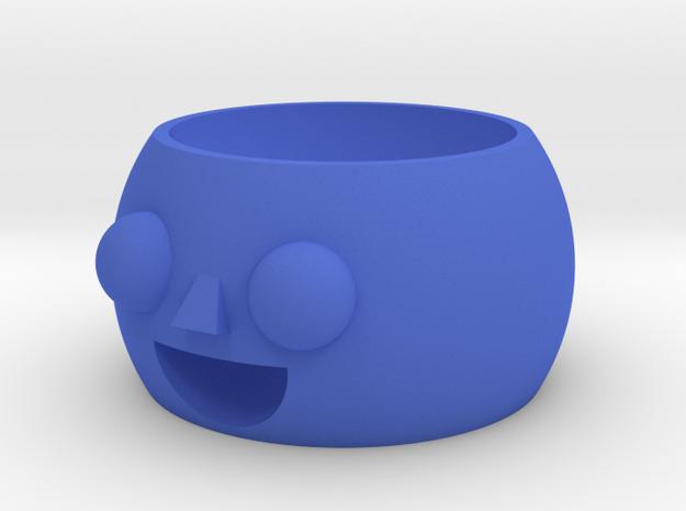 Little boy pot in Blue Processed Versatile Plastic