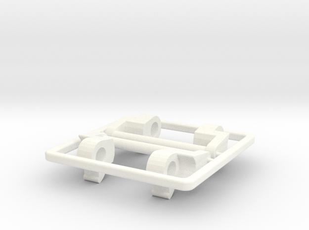 GShock MTG-S1000 NATO adapter in White Processed Versatile Plastic