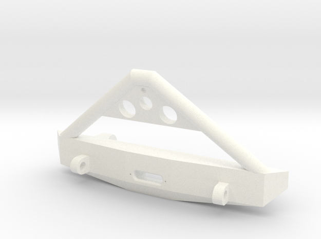 Deadbolt Bumper in White Processed Versatile Plastic