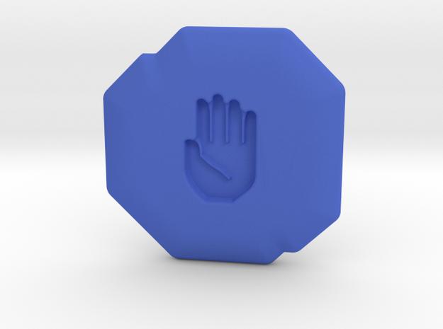 Honesty Runestone in Blue Processed Versatile Plastic