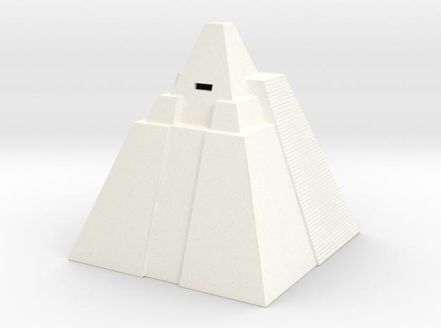 Game of Thrones - Pryamid in White Processed Versatile Plastic