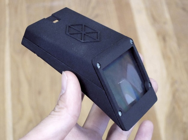 Public Lab Smartphone Spectrometer in Black Strong & Flexible