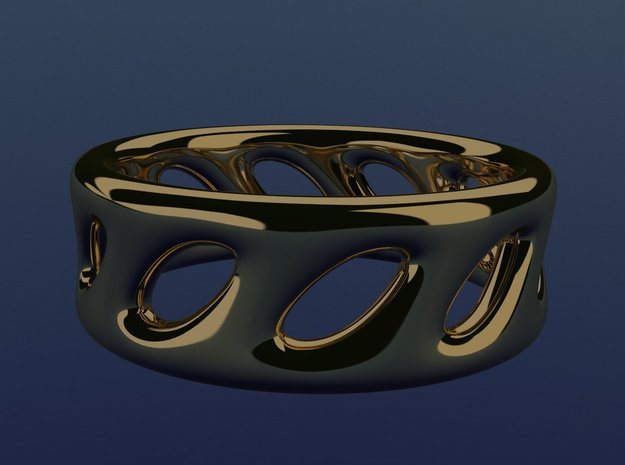 clasic ring in 14k Gold Plated