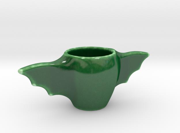 Bat wing espresso cup