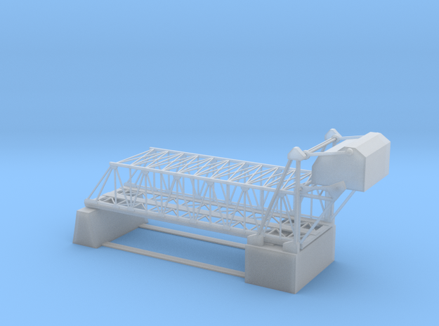 Double Bascule Lift Bridge Z Scale