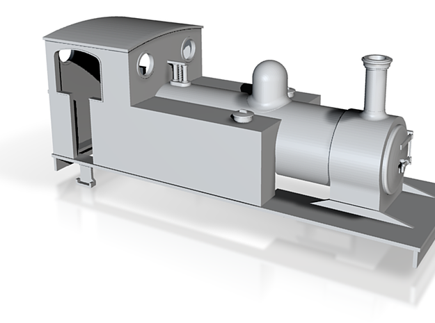 009 Barclay style 4-6-0T  3d printed