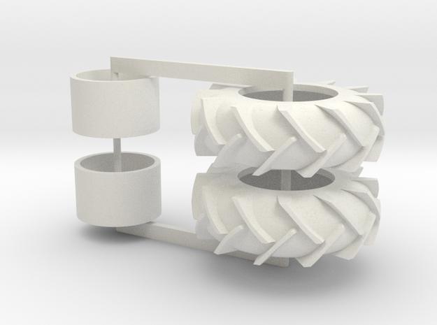 23.1- 34 Set in White Natural Versatile Plastic