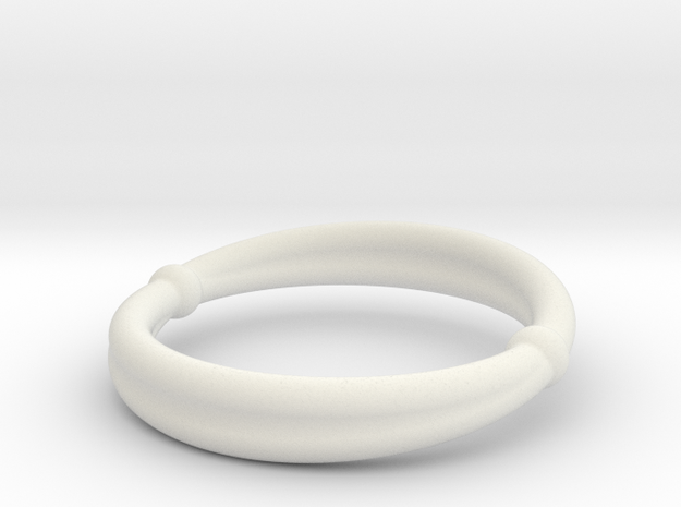 手環  wristband in White Strong & Flexible