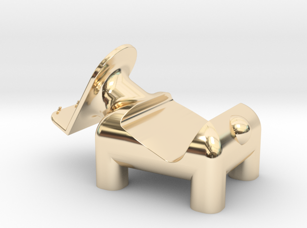 動物 手機架  Animal mobile phone holder in 14K Gold