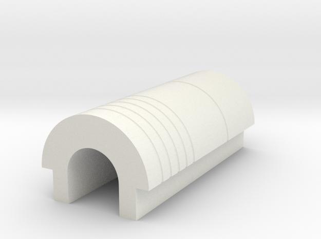 LPA NN-14 - Top back cover in White Natural Versatile Plastic