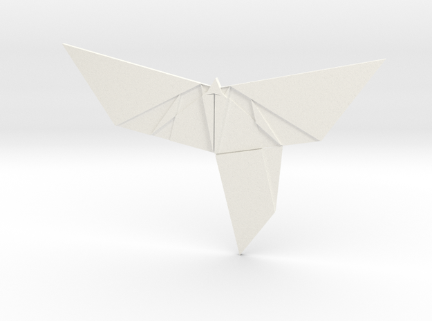 The Butterfly Effect in White Processed Versatile Plastic