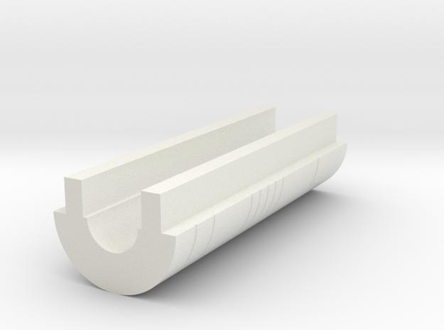 LPA NN-14 - Bottom cover in White Natural Versatile Plastic