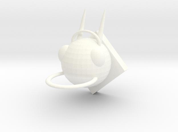 Monster Hook in White Processed Versatile Plastic