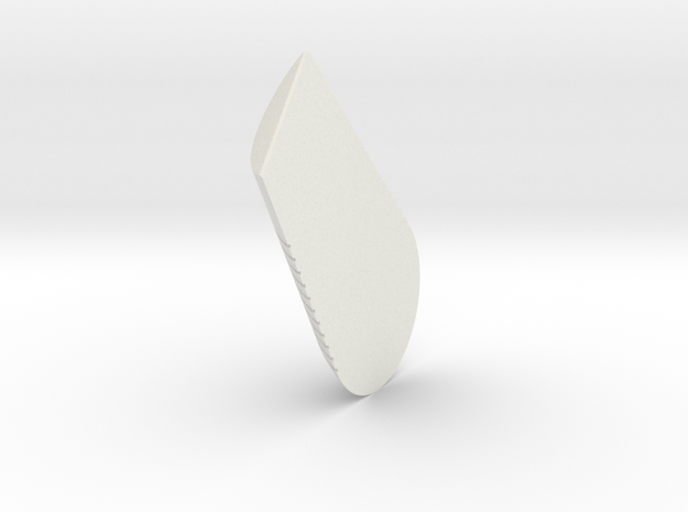LPA NN-14 - Grip 2 in White Natural Versatile Plastic
