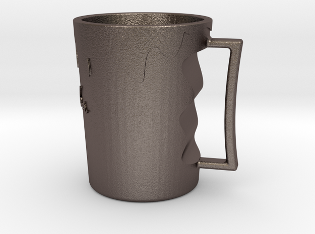 Water Flowing Cup in Stainless Steel