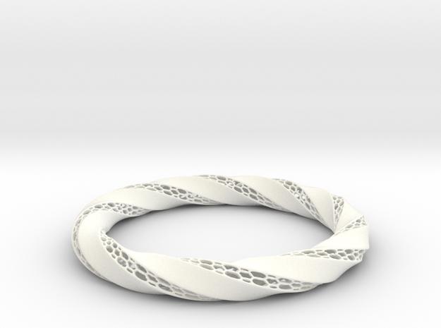 Ring-RoyalModel in White Processed Versatile Plastic