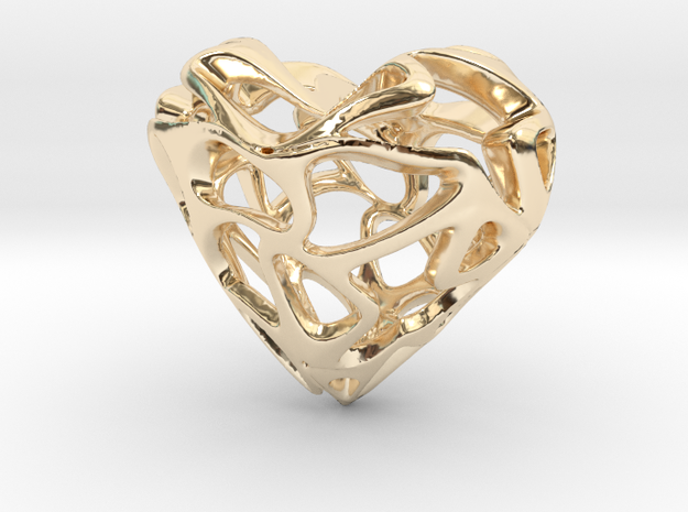 LoveHeart in 14K Yellow Gold