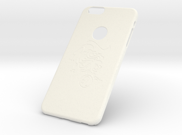 Leo Phone Case IPhone 6 Plus in White Strong & Flexible Polished