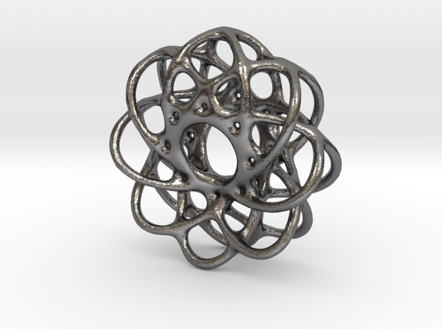Spiro Pendant No.1 in Polished Nickel Steel