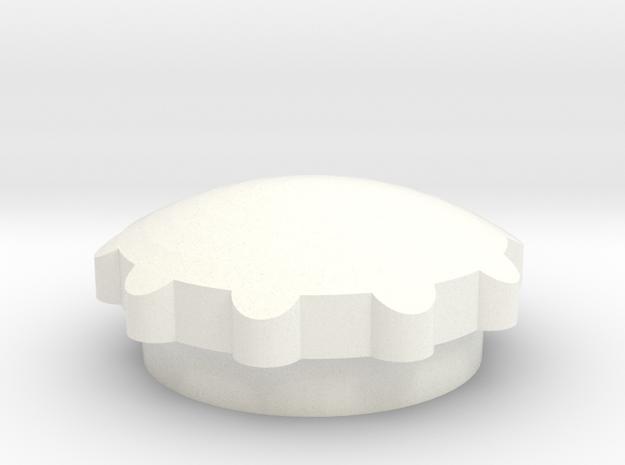 Fcup in White Processed Versatile Plastic