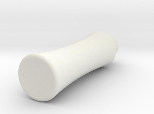 乳液瓶.stl in White Strong & Flexible