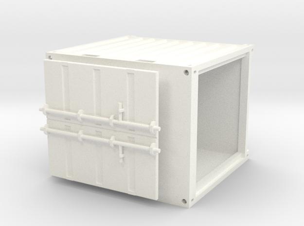 10ftcontainer in White Processed Versatile Plastic