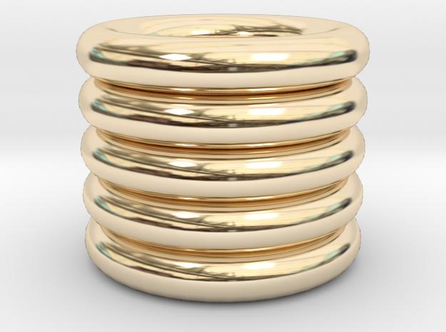 Pan in 14K Gold