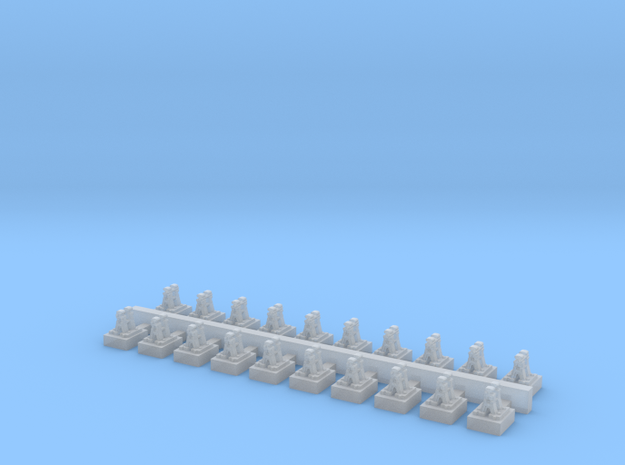 A Frames 1 x 20 - 7mm Scale in Frosted Ultra Detail